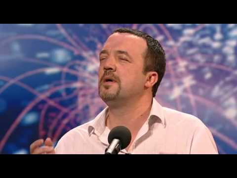 "Jamie Pugh - Singer ""Les Miserables"" - Britains Got Talent 2009 Ep 4"