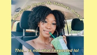 I Let My Friends Choose My Starbucks Drinks...yikes 😬