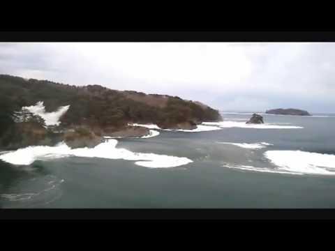 Huge TSUNAMI struck on the Japan coast   2011 Taro, Iwate Prefecture