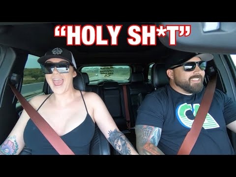[video] Beautiful Girl Reacts To 900whp Jeep Trackhawk!!!!! *part 1*
