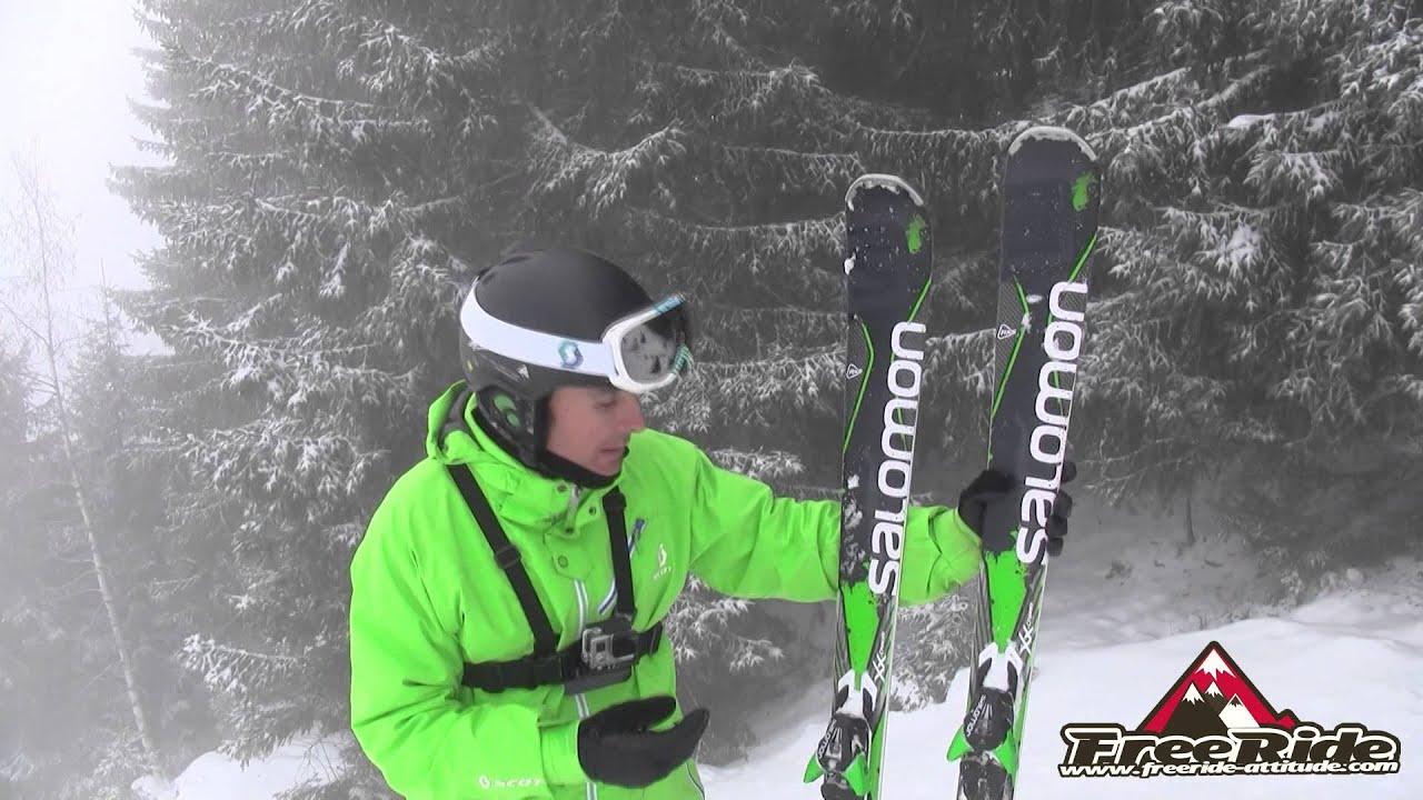 size 40 new concept new arrive Test Ski Salomon X drive 80 2015