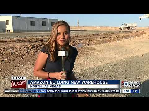 Amazon's new North Las Vegas center to create 1,000 jobs