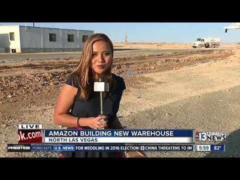 Amazon's new North Las Vegas center to create 1,000 jobs