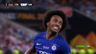 Chelsea - Arsenal (4-1) Highlights - UEFA Europa League - 29/5/2019 | COSMOTE SPORT