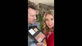 Maquillage simple, naturel & lumineux, sans ombres à paupières (et si vous achetez les 5 produits utilisés, vous avez 50% sur chacun d'eux) : -sur la paupière ...