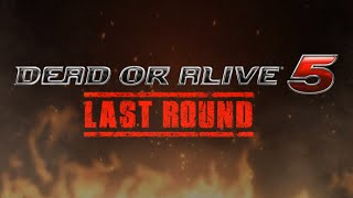 DEAD OR ALIVE 5 LAST ROUND - ANNOUNCEMENT TRAILER