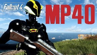 MP40 NYX SUIT AND SVI  - Fallout 4 Mod Review PC