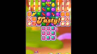 Candy Crush Friends Saga Level 383 - NO BOOSTERS 👩‍👧‍👦 | SKILLGAMING ✔️