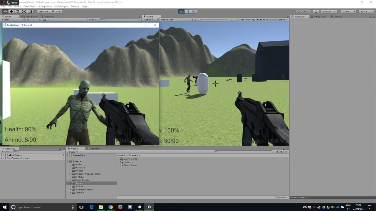 How to Create a Multiplayer FPS in Unity - Introduction