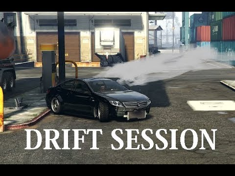DRIFT MEET GTA 5 Online Drift Session