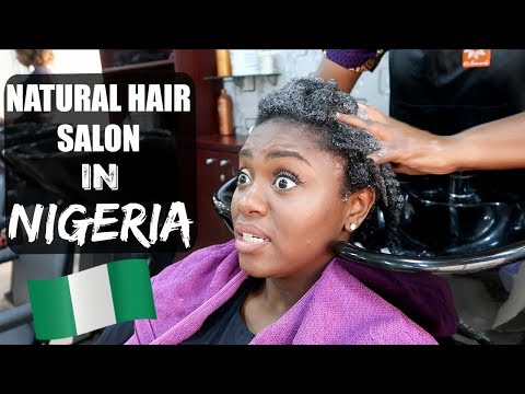 NATURAL HAIR SALON IN NIGERIA? MY EXPERIENCE| Salon Series Ep.4