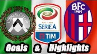 Udinese vs Bologna - Goals & Highlights Calcio Série A