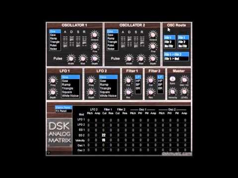 DSK Analog Matrix - Free VST
