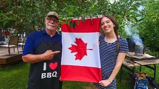 Celebrando el DÍA DE CANADÁ  + Cocinando Típicos PLATOS CANADIENSES (Poutine + Frijoles Horneados)