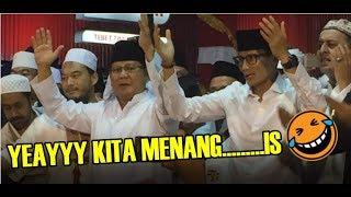 Merasa Unggul! Prabowo Deklarasi Menang Telak di Luar Negeri