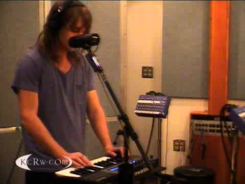 The Naked and Famous performing Young Blood on KCRW
