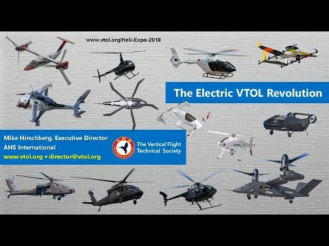The Electric VTOL Revolution: Heli-Expo 2018 Press Briefing