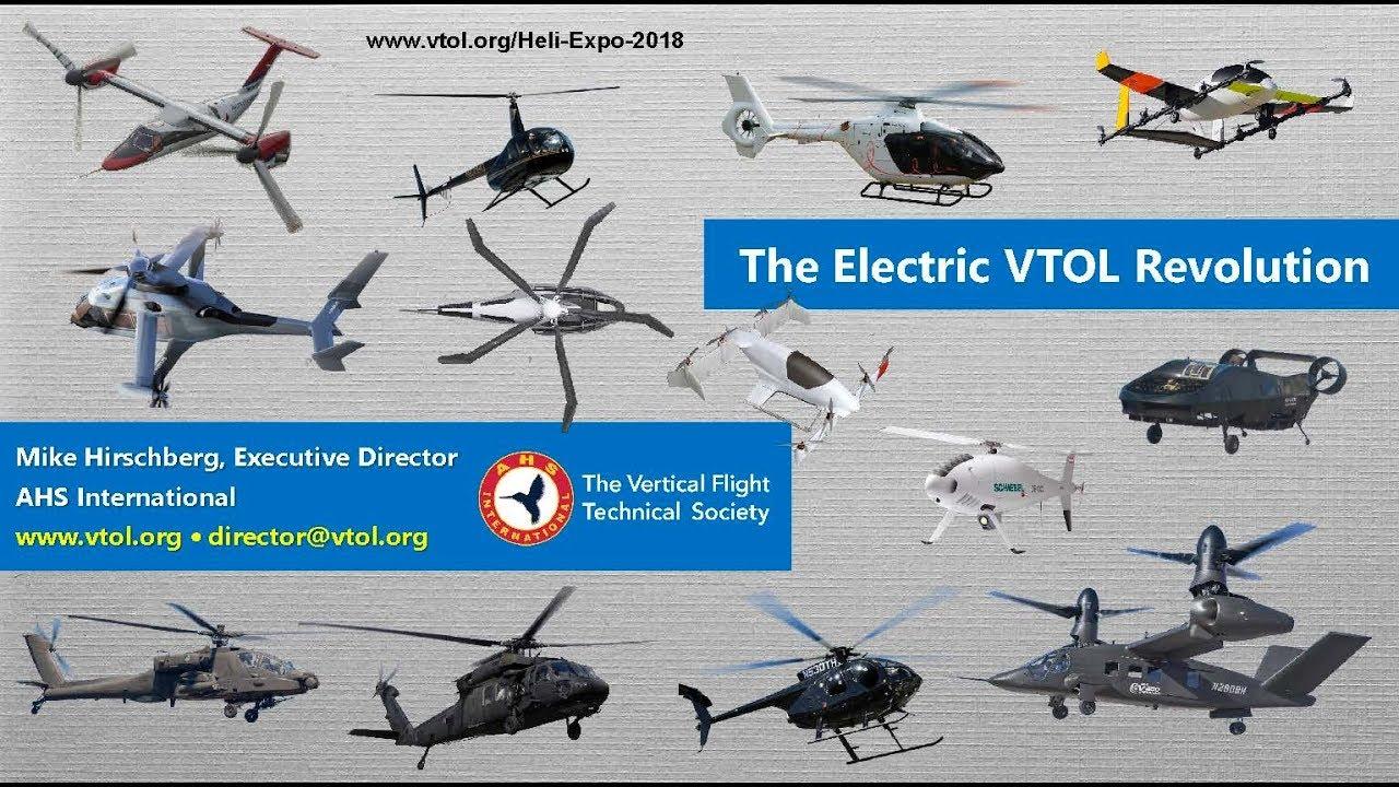 The Electric Vtol Revolution Heli Expo 2018 Press Briefing
