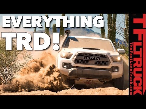 Deep Dive into Toyota's Most Off-Road Worthy Trucks: 2019 Tacoma, Tundra and 4Runner TRD Pro