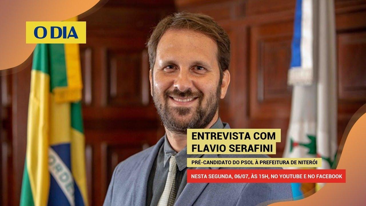 Eleições 2020 - Niterói: Flavio Serafini