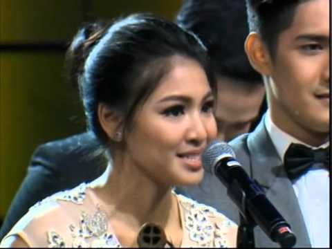 Nadine Lustre  at FAMAS 2015: Nadine Lustre received German Moreno Youth Achievement Award from FAMAS.  Congrtas Nadya!!