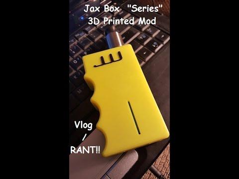 """Jax Box"" series 3d printed box / vlog RANT/ It's gonna be a long one!!"