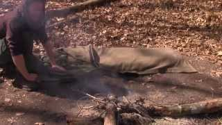 The NativeSurvival Bedroll -  The Most Versatile Wool Blanket in the World
