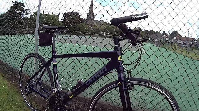 Chris Boardman Hybrid Race Bike, Quick review