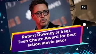 Robert Downey Jr bags Teen Choice Award for best action movie actor