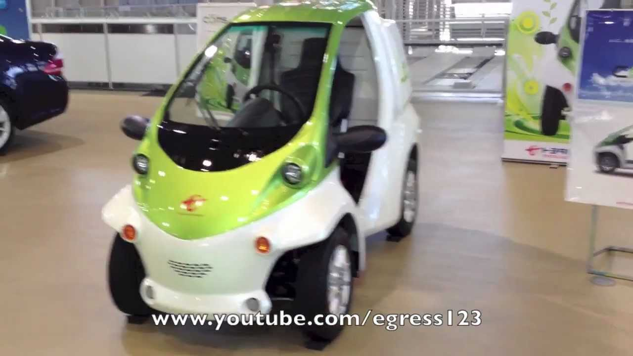 Super Compact Electric Car Coms Weird Japanese Cars Youtube
