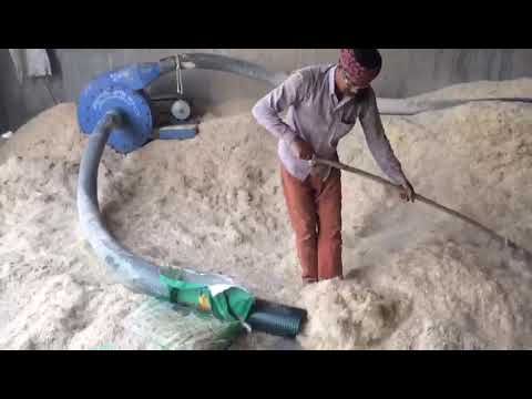 Bhoosa tudi khakala bharane ki machine
