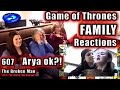 Game Of Thrones | Family Reactions |  Arya Ok? | 607 | The Broken Man