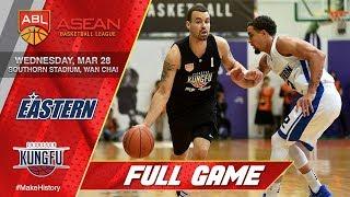 Hong Kong Eastern vs Chong Son Kung Fu | FULL GAME | 2017-2018 ASEAN Basketball League