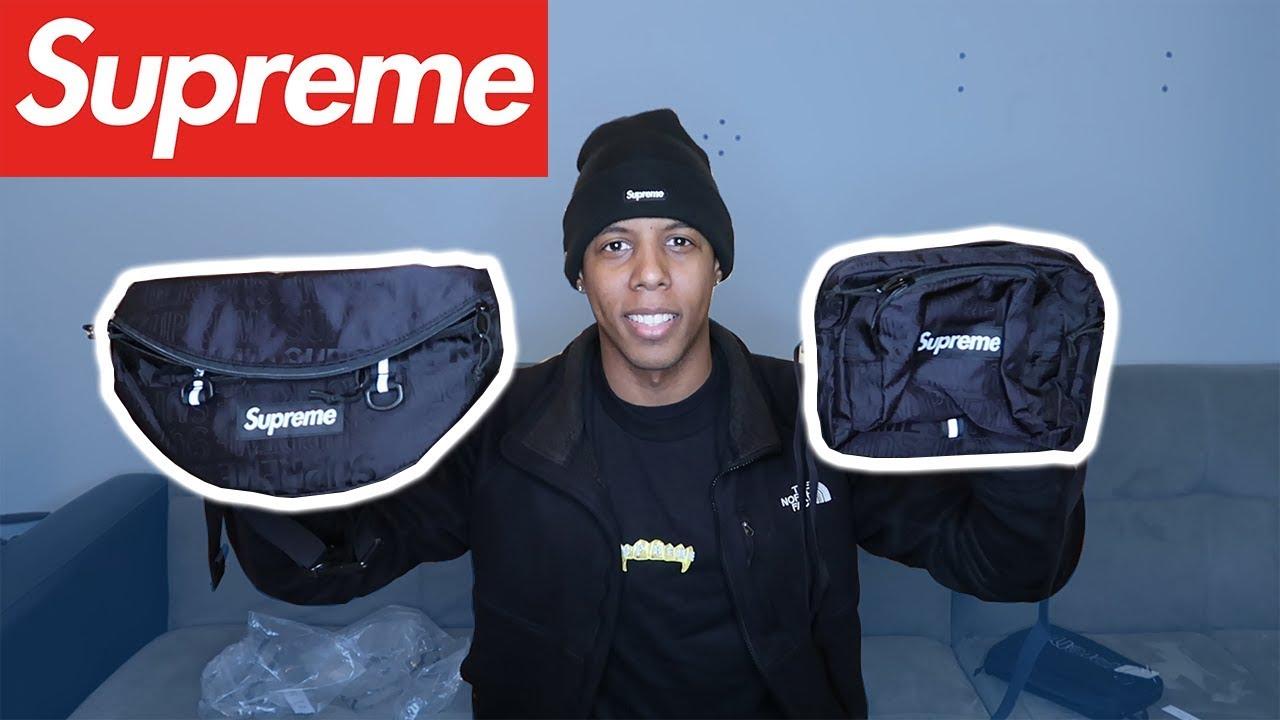 SUPREME SS19 SHOULDER & WAIST BAG REVIEW - YouTube