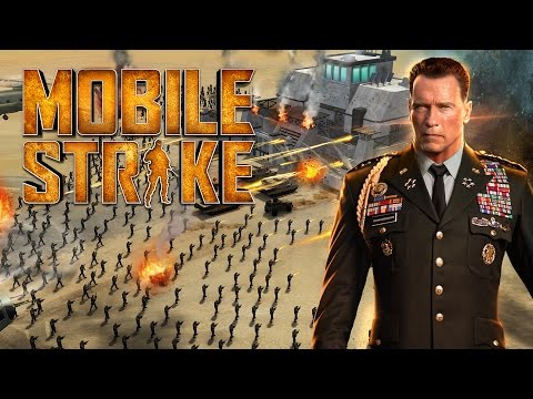 "Mobile Strike: Arnold Schwarzenegger in ""Command Center"" - UNCUT VERSION"