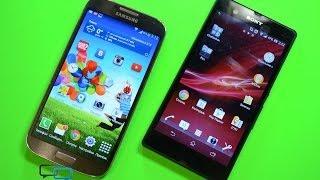 �����-��������� Samsung Galaxy S4 � Sony Xperia Z (SGS4 vs SXZ)