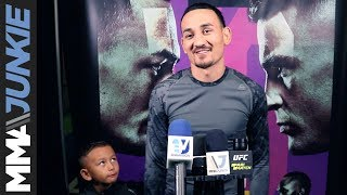 UFC featherweight champion Max Holloway spoke with the media ahead of Saturday's UFC 236 event in Atlanta.