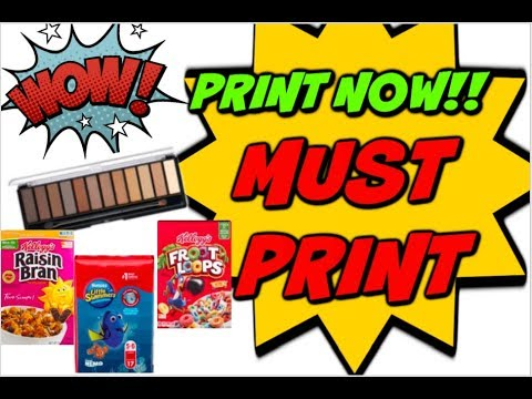 PRINT NOW!   NEW PRINTABLE COUPONS & RESETS FOR OUR DEALS! 🖨