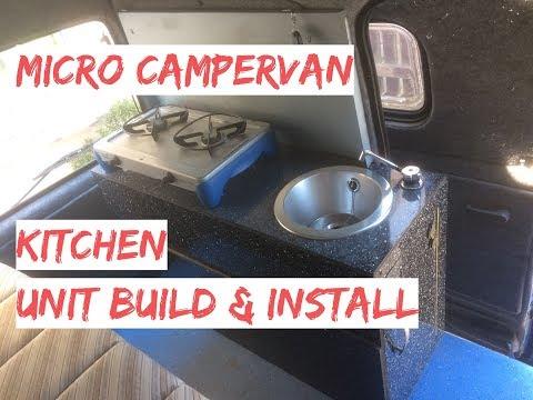 campervan-kitchen-unit-build-&-install-with-gas-burner-&-sink---micro-camper-kitchen-pod