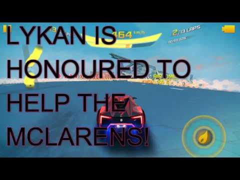 Asphalt 8: RACE SUGGESTIONS - LYKAN 13 LAPS AND 24 RACERS