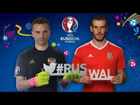 2016 Euro France-Wales vs Russia 3-0 Football Highlights (20-06-2016)