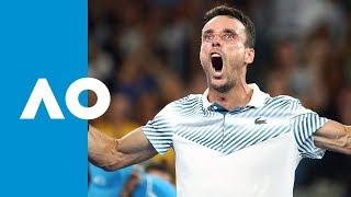 Roberto Bautista Agut v John Millman match highlights (2R)   Australian Open 2019
