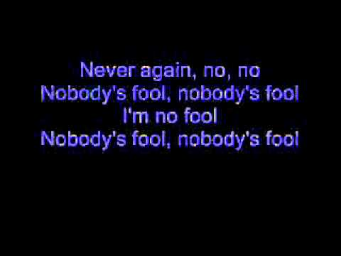 Cinderella - Nobody's Fool (Lyrics)