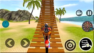 Motocross Beach Bike Stunt Racing - Motor Racer Game - Android Gameplay