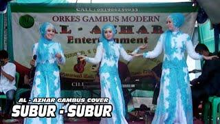 YANG CANTIK - CANTIK BERGOYANG   SUBUR - SUBUR   Al - Azhar gambus Cover   Adin Ranger