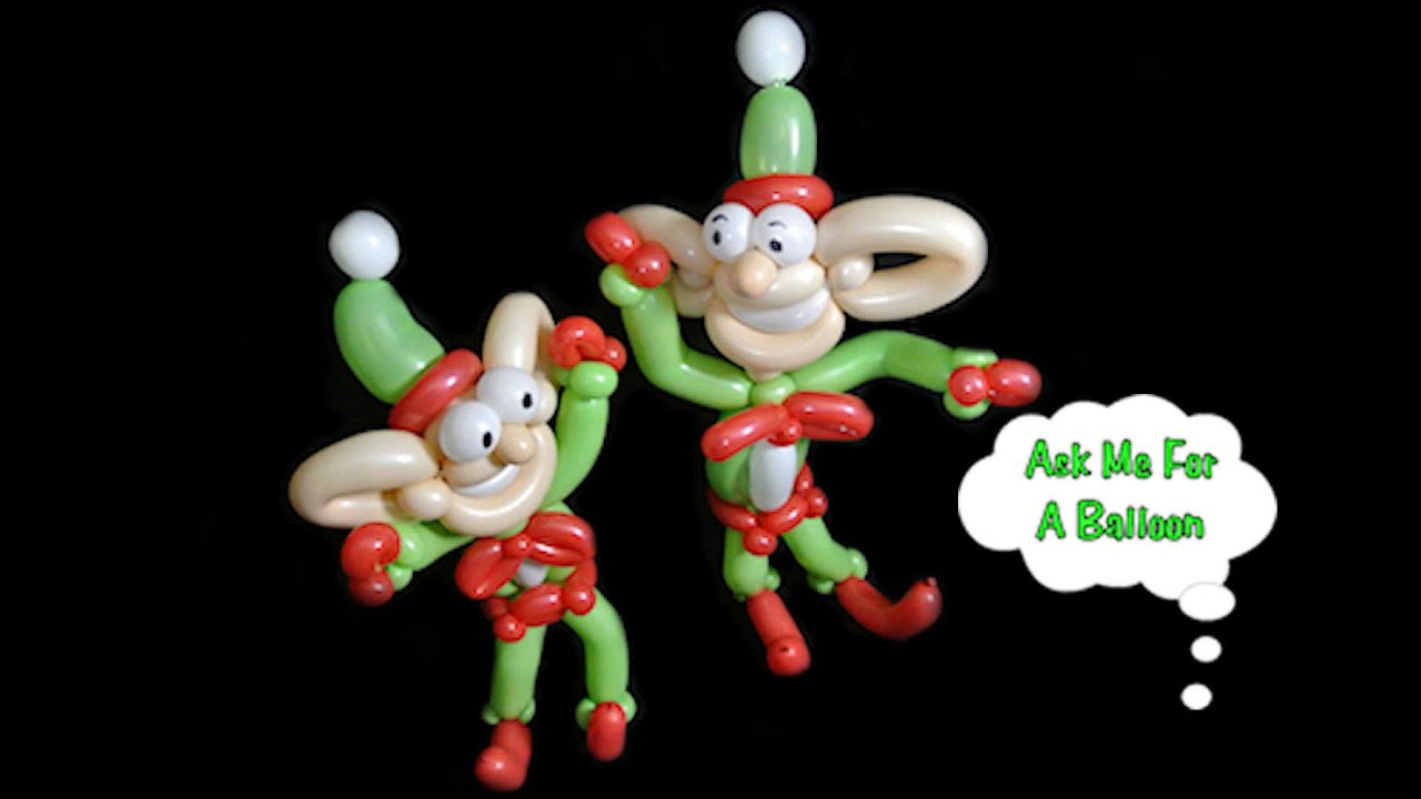 Balloon Elf Christmas Twisting
