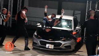 Parking Lot Fight: Best Friends vs Proud & Powerful - AEW Dynamite