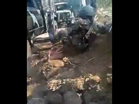 AFP vs Abu Sayaf in Tipo-Tipo Basilan April 09, 2016