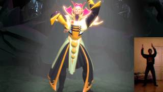 DotA 2 - Kinect Test SFM Animation 2 (Forget You - Invoker)