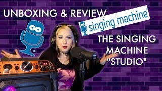 "I Tried The Singing Machine's ""Studio"" Karaoke Machine! Unboxing and Review"
